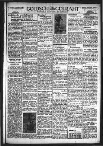 Goudsche Courant 1944-01-27
