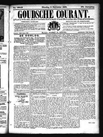 Goudsche Courant 1918-11-05