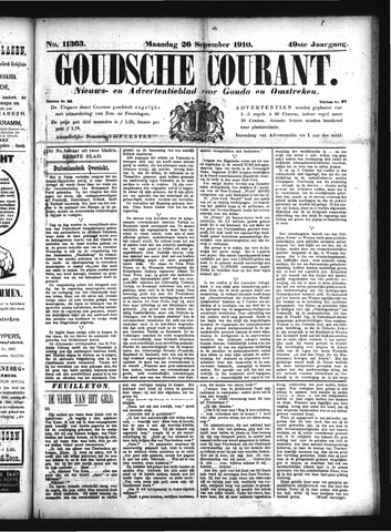 Goudsche Courant 1910-09-26
