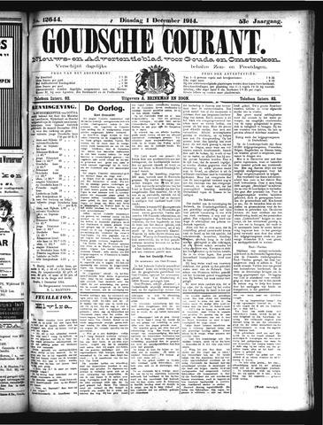 Goudsche Courant 1914-12-01