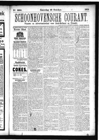 Schoonhovensche Courant 1912-10-26