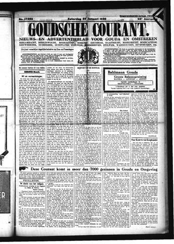Goudsche Courant 1930-01-25