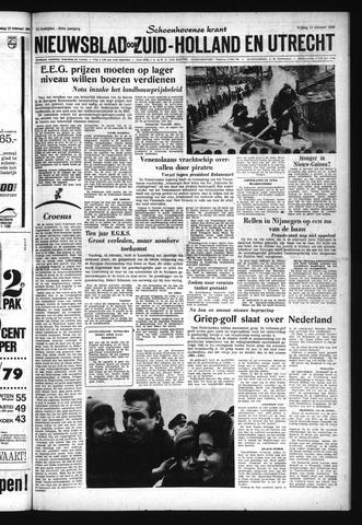 Schoonhovensche Courant 1963-02-15