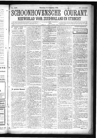 Schoonhovensche Courant 1926-08-16