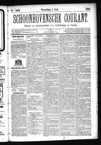 Schoonhovensche Courant 1920-07-05