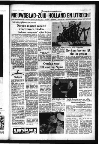 Schoonhovensche Courant 1969-10-29
