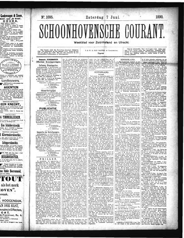 Schoonhovensche Courant 1890-06-07