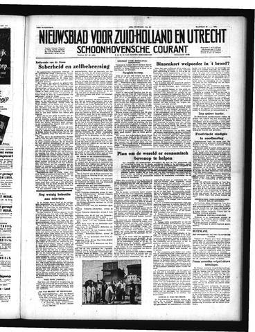 Schoonhovensche Courant 1951-05-21
