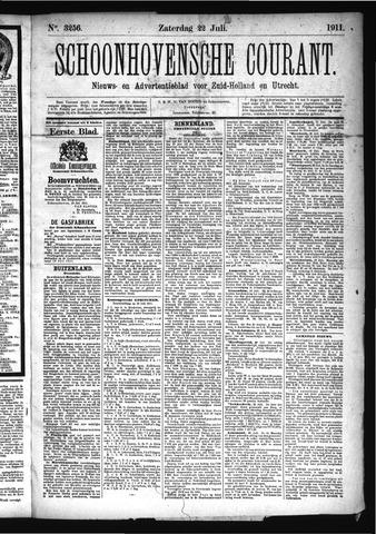 Schoonhovensche Courant 1911-07-22