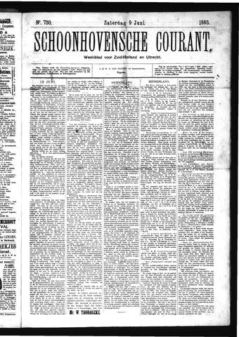 Schoonhovensche Courant 1883-06-09