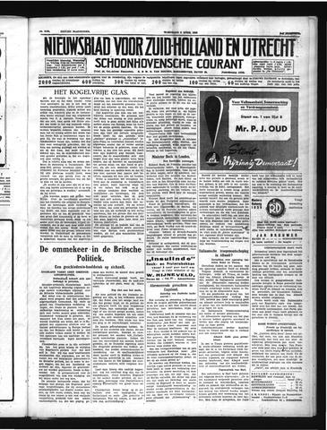 Schoonhovensche Courant 1939-04-05