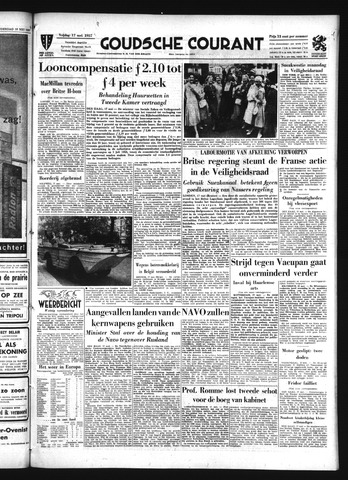 Goudsche Courant 1957-05-17