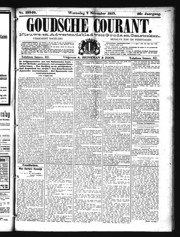 Goudsche Courant 1917-11-07