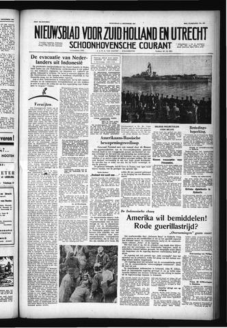 Schoonhovensche Courant 1957-12-11