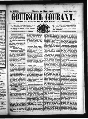 Goudsche Courant 1909-03-22