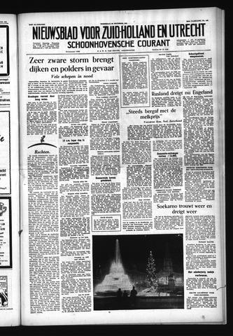 Schoonhovensche Courant 1954-12-22