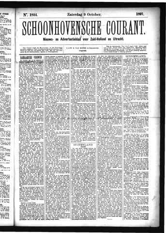 Schoonhovensche Courant 1897-10-09