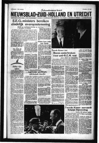 Schoonhovensche Courant 1964-07-01