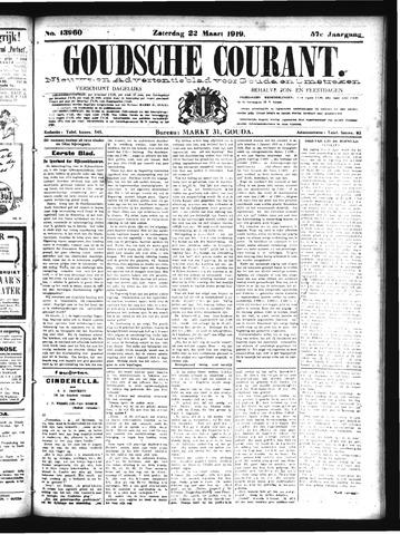 Goudsche Courant 1919-03-22