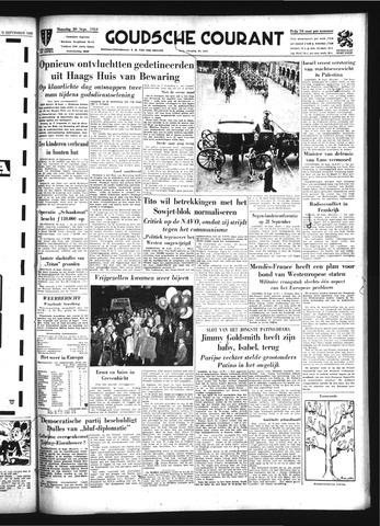 Goudsche Courant 1954-09-20