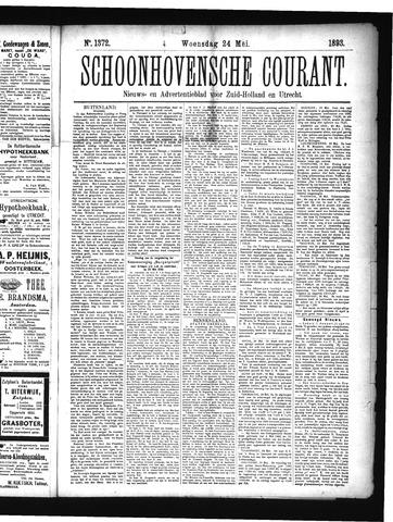 Schoonhovensche Courant 1893-05-24