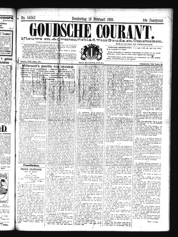 Goudsche Courant 1920-02-19