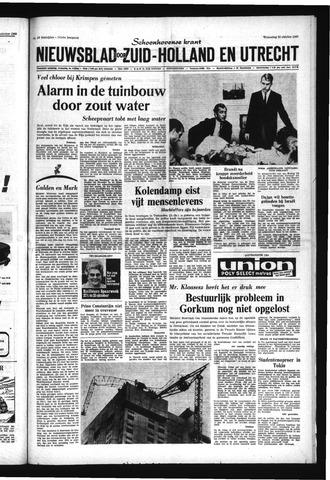 Schoonhovensche Courant 1969-10-22