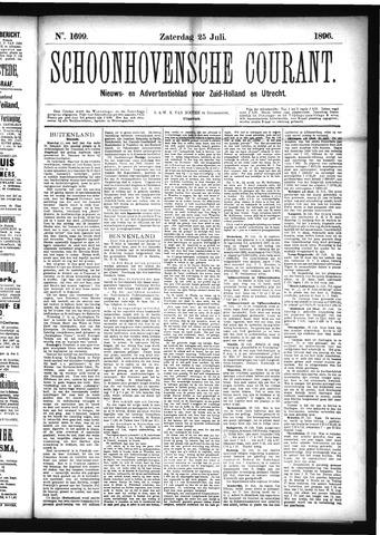 Schoonhovensche Courant 1896-07-25