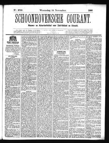Schoonhovensche Courant 1906-11-14