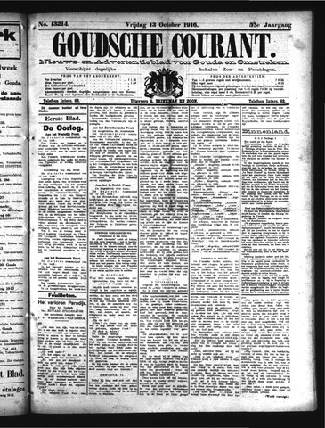 Goudsche Courant 1916-10-13