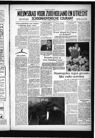 Schoonhovensche Courant 1957-01-09