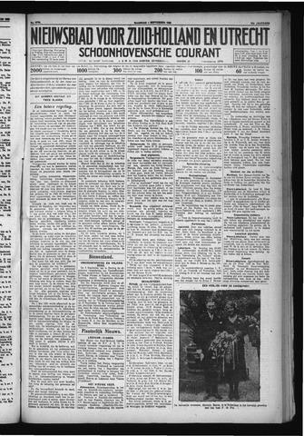 Schoonhovensche Courant 1930-09-01