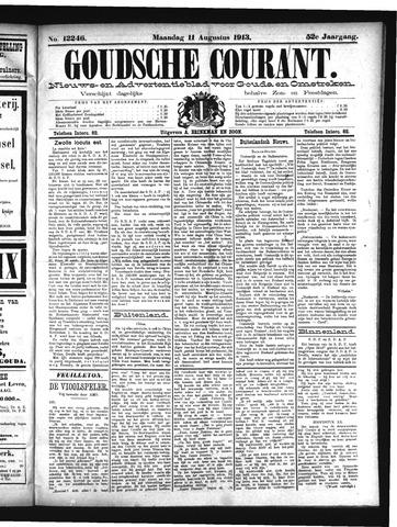 Goudsche Courant 1913-08-11