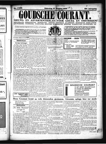 Goudsche Courant 1930-10-18