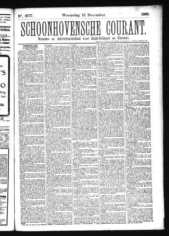 Schoonhovensche Courant 1906-12-12
