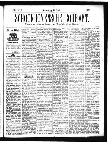 Schoonhovensche Courant 1906-05-12