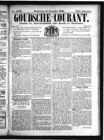 Goudsche Courant 1909-11-18
