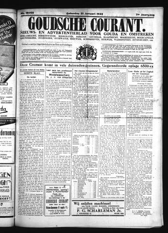 Goudsche Courant 1933-01-21