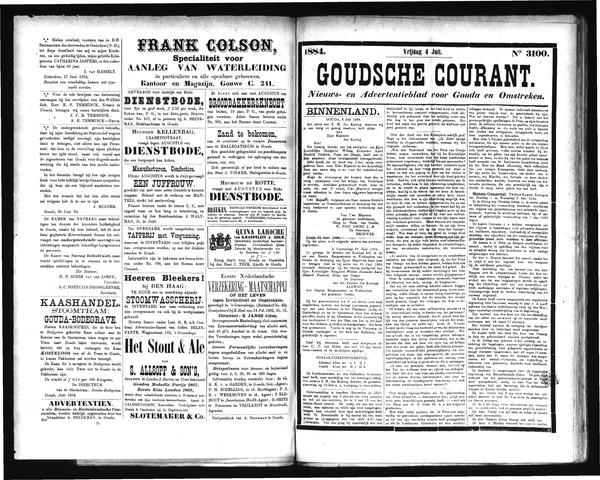 Goudsche Courant 1884-07-04