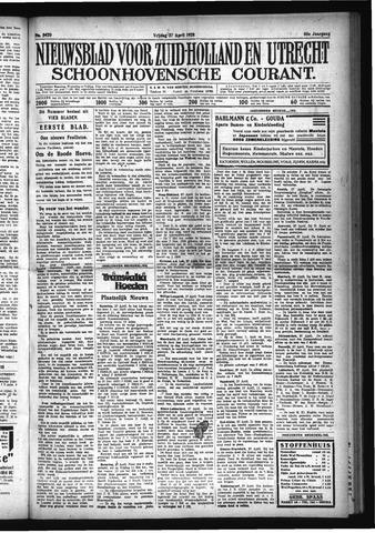 Schoonhovensche Courant 1928-04-27