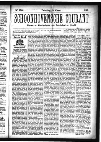 Schoonhovensche Courant 1897-03-20