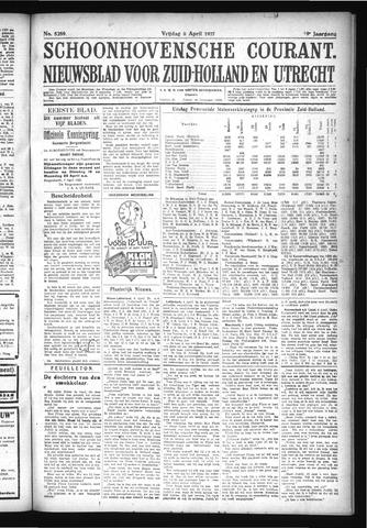 Schoonhovensche Courant 1927-04-08