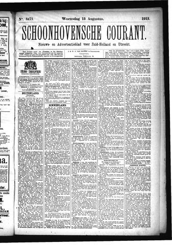 Schoonhovensche Courant 1913-08-13