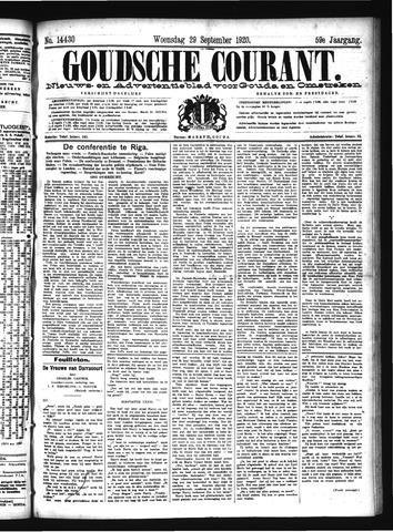 Goudsche Courant 1920-09-29