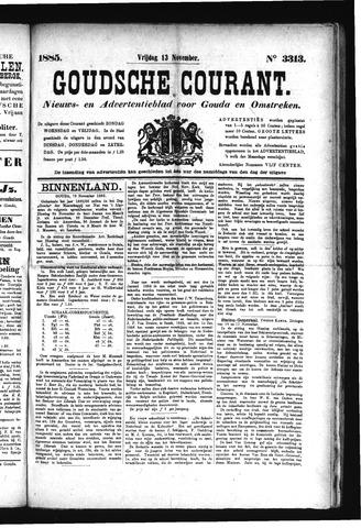 Goudsche Courant 1885-11-13