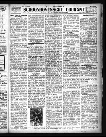 Schoonhovensche Courant 1944-08-08