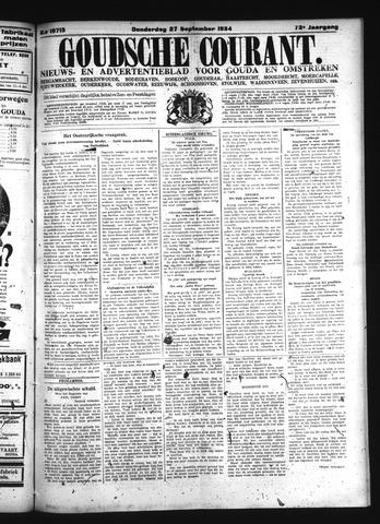 Goudsche Courant 1934-09-27