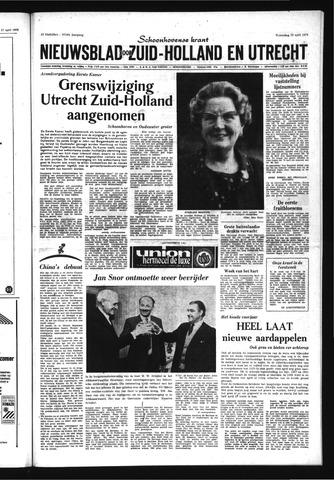 Schoonhovensche Courant 1970-04-29