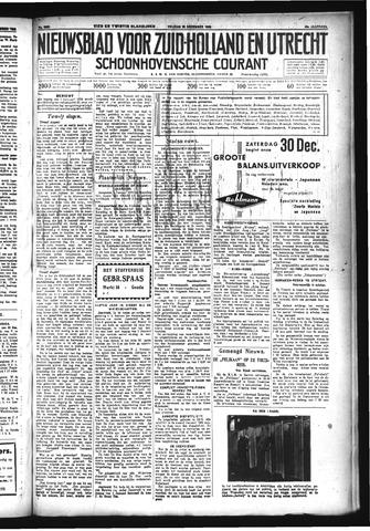 Schoonhovensche Courant 1933-12-29