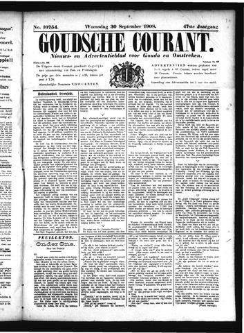 Goudsche Courant 1908-09-30